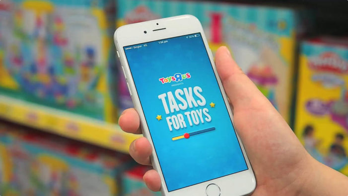 """Ogilvy Singapore and Toys """"R"""" Us launch mobile app that gets kids to do their chores"""