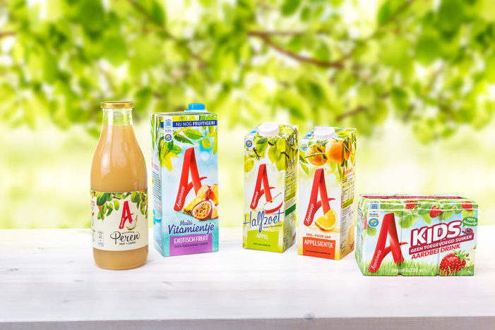 Design Bridge reveals new package designs for Dutch fruit-juice favourite Appelsientje