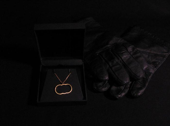 Joe Bruce designs pendant inspired by the Hatton Garden robbery