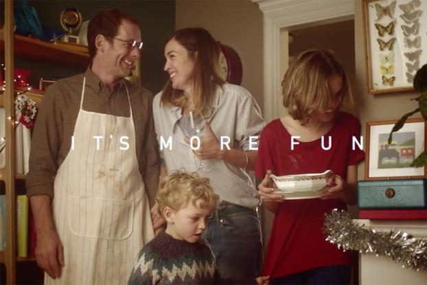 Beautiful Scrabble ad by LOLA spells out the magic in Christmas