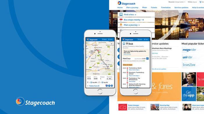 Stagecoach Bus to launch UK-wide online bus journey planning service with website by Rufus Leonard
