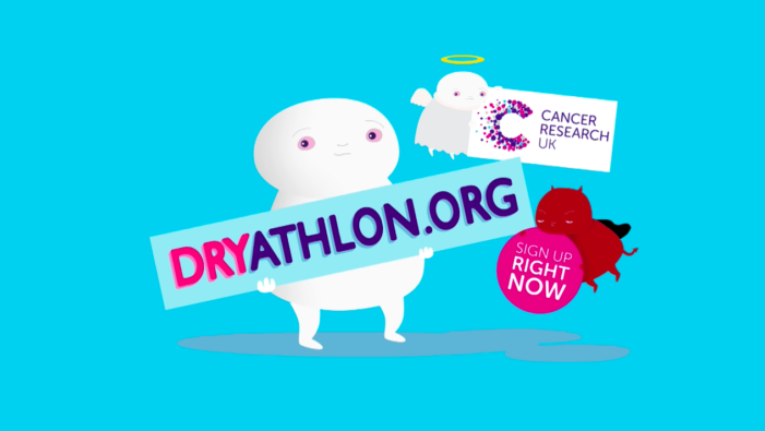 Karmarama develops new campaign for Cancer Research UK's Dryathlon 2016