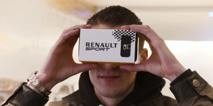 Renault ad campaign puts you in the driver's seat using 360 degree video