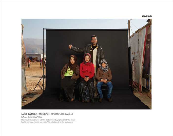 M&C Saatchi and CAFOD Illustrate the Impact of War on Families in Hard Hitting Campaign