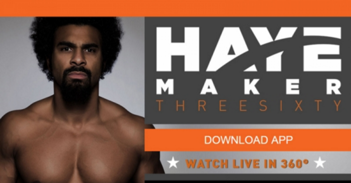 David Haye faced off Mark De Mori in the first ever live-VR boxing bout
