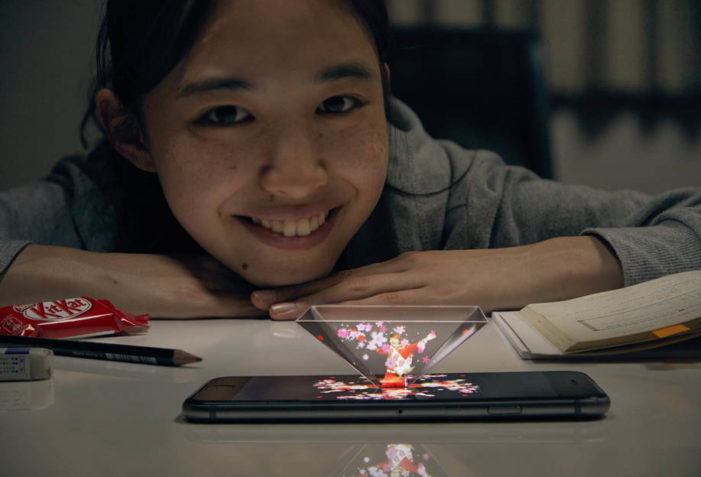 JWT Japan & KIT MAIL Hologram Offer Cheer to Hard Working Students