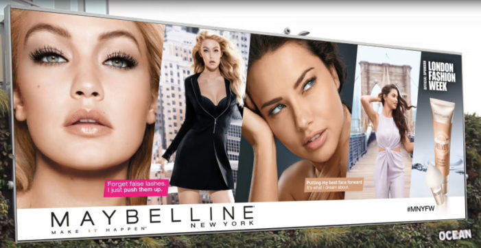Maybelline partners with British Fashion Council to bring LFW to fashion fans across UK