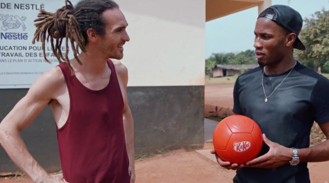 Didier Drogba Stars in Nestlé Cocoa Plan Campaign from Team Iconic at JWT