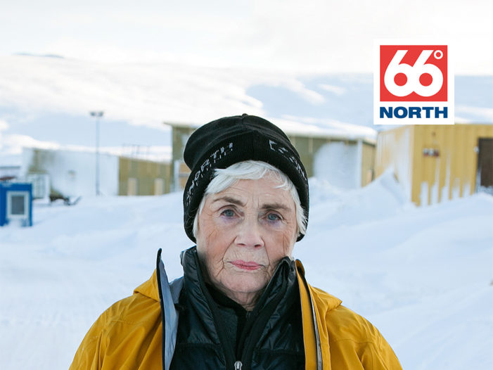 81-year-old Icelandic woman stars in ad campaign by Iceland's leading clothing brand 66°NORTH