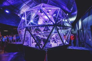 Artem SFX design and build iconic glass dome for the return of The Crystal Maze