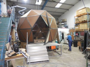 BTS Artem SFX design and build iconic glass dome for the return of The Crystal Maze
