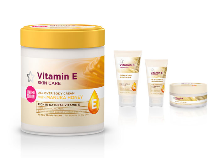 Biles Inc. Designs Limited Edition Vitamin E Body Cream from Superdrug