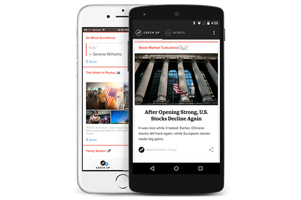 Buzzfeed rolls out breaking news app