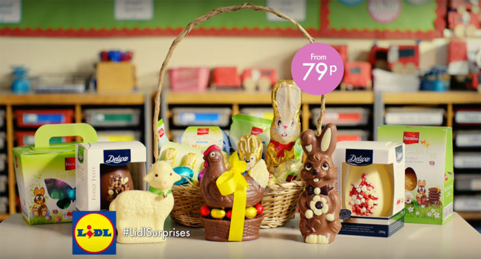 Lidl Launches Easter TV Campaign with All the Trimmings