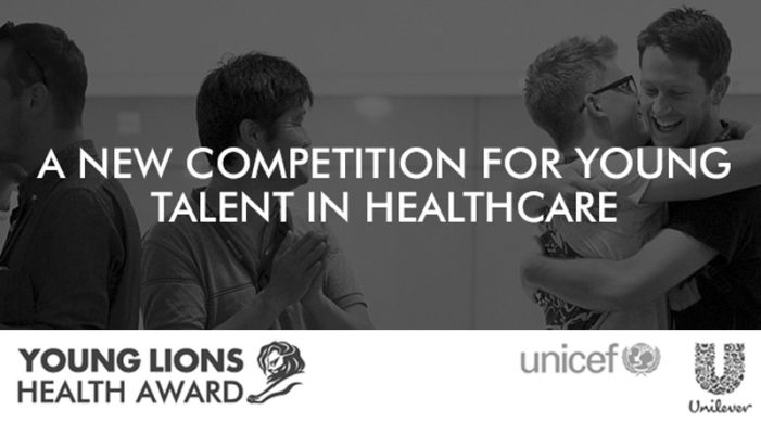 Lions Health and UNICEF launch Global competition aimed at young creatives and marketers
