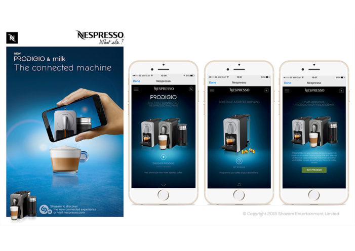 Shazam to Power Nespresso Campaigns for First Ever Connected Coffeemaker