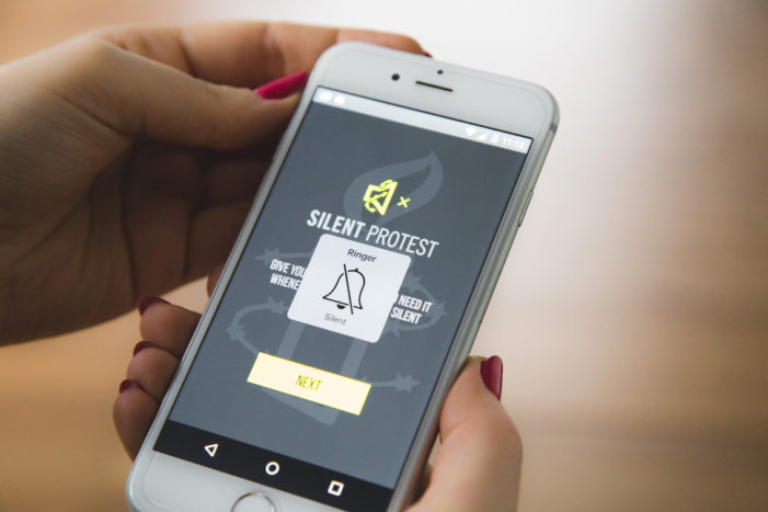 Saatchi & Saatchi's new app turns up volume of support for Amnesty International whenever your phone is on silent