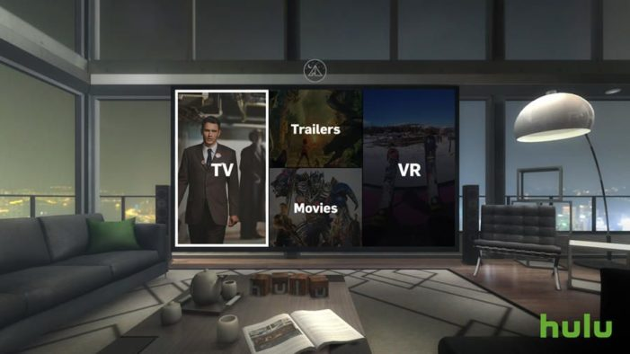 Hulu Launches Virtual Reality Application