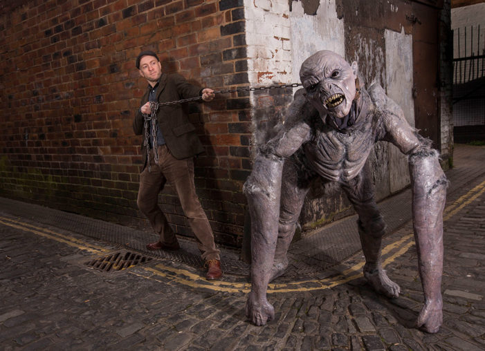 Derren Brown unleashes terrifying Demon on the public as teaser for new ride at Thorpe Park