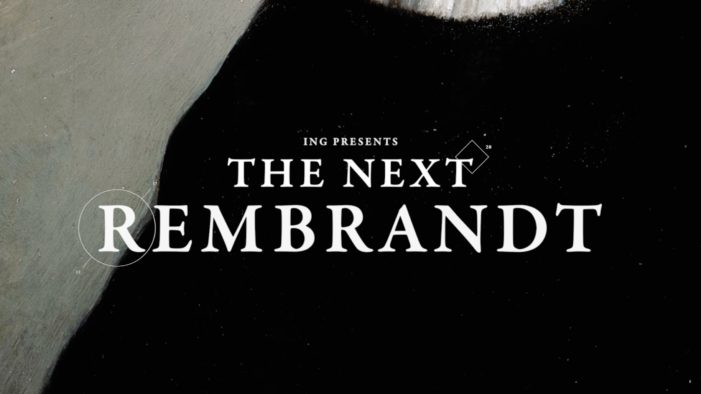 JWT Amsterdam Unveils the First 'New' Rembrandt in Over 300 Years