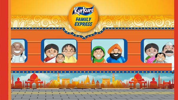 #KurkureFamilyExpress – India's First Food Train Sets Off