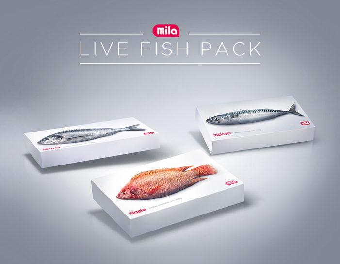 Mila make Frozen Fish come to life in Supermarket prank