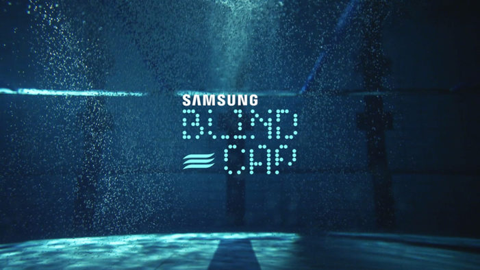 Cheil Spain and Samsung create new high-tech swimming cap for blind Paralympic swimmers