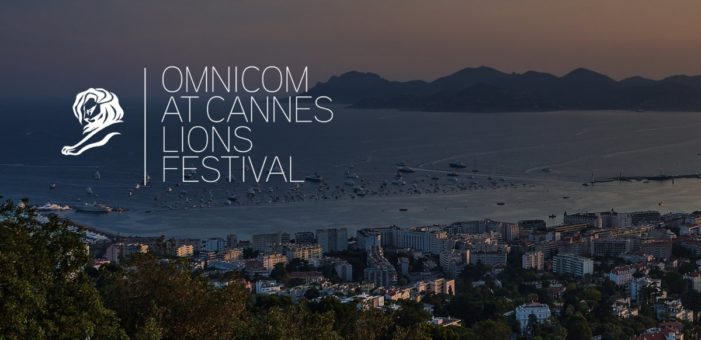 Omnicom Agencies Win Top Honors at the 2017 Cannes Lions Festival of Creativity