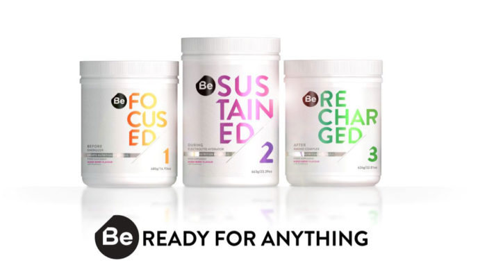 PB Creative de-codes the world of sports supplements with design for new brand 'Be'