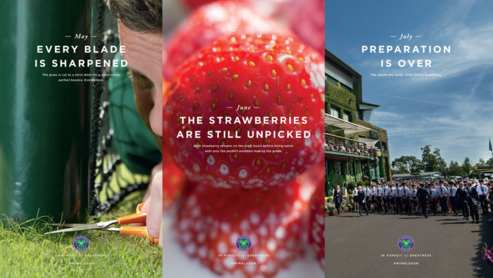 Space Launches Arrivals Campaign For Wimbledon 2017