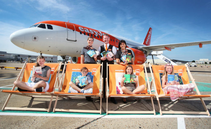 easyJet launches in-flight library to get kids reading this summer