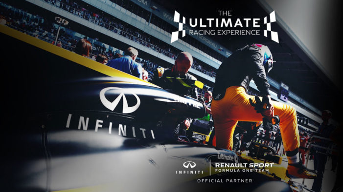 TMW Unlimited launches promotion for INFINITI to celebrate its partnership with the Renault Sport F1 Team