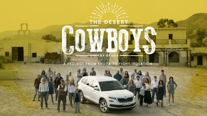 Škoda Spain and Proximity Barcelona unveil 'the Desert Cowboys' campaign to fight isolation