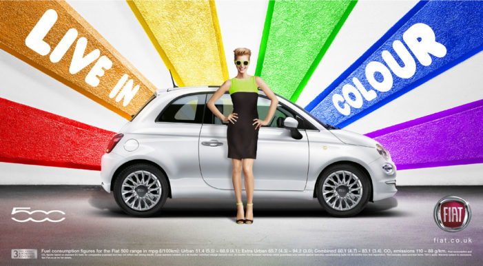 Fiat UK celebrates Pride London with a colourful and flamboyant campaign by krow
