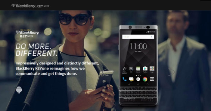 Schiefer Chopshop Launches New Global Campaign for BlackBerry Mobile's KEYone Smartphone