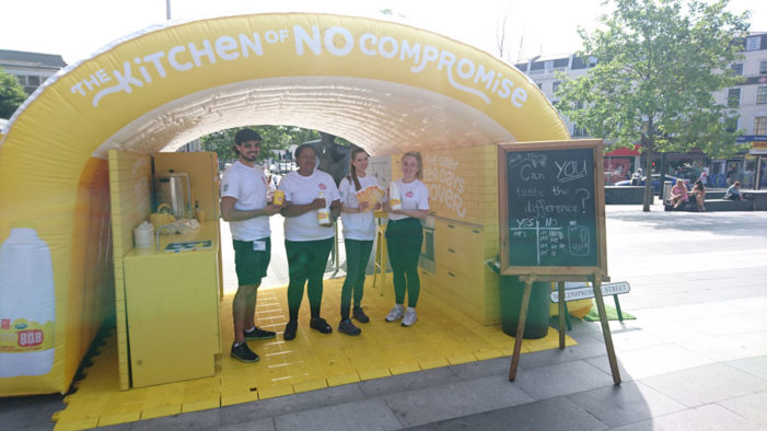 Space Teams with Arla to Boost Awareness of its Yellow Top Milk