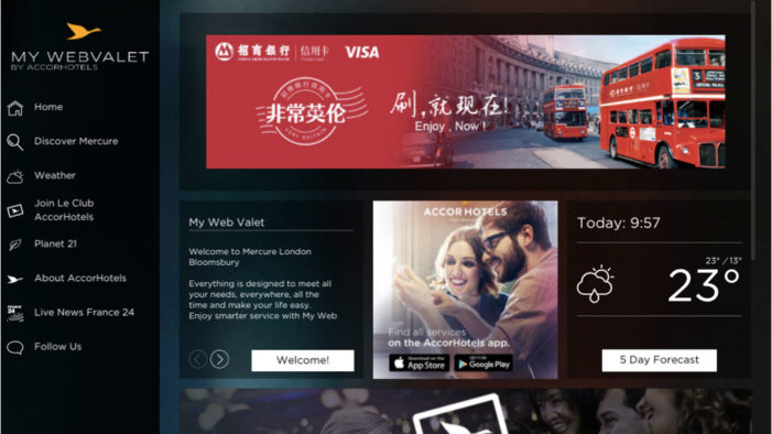 Visa adds first hotel wifi sponsorship to OOH campaign targeting Chinese tourists