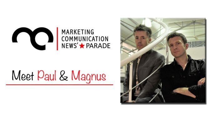 MarComm's Star Parade: Meet Paul Turner & Magnus Thorne