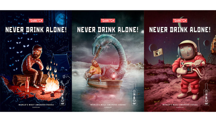 Tovaritch! Vodka and Proximity Madrid unveil new instalment of their 'Never Drink Alone' campaign