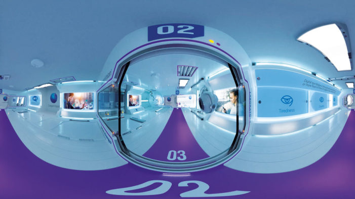 Five by Five creates virtual reality contact lens video to revolutionise the waiting room experience