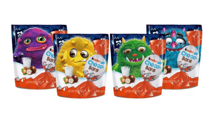 Kinder Choco-Bons Gets a Monster Makeover for Halloween