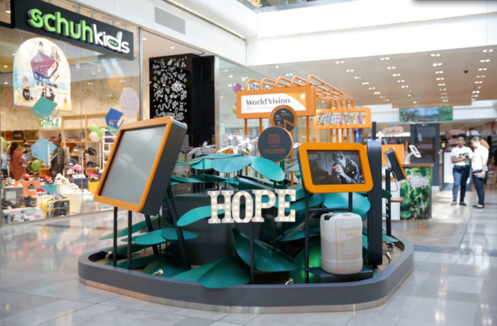 World Vision UK launches pioneering installation and raises the bar for charity retail