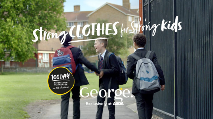 George at Asda launches 'Strong Clothes for Strong Kids' campaign by Saatchi & Saatchi London