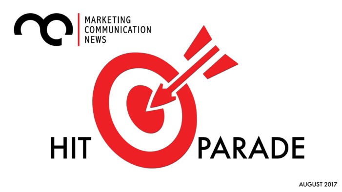 MarComm News Hit Parade: August 2017