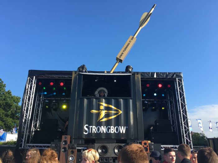 Strongbow rounds off epic summer with Victorious Festival activation