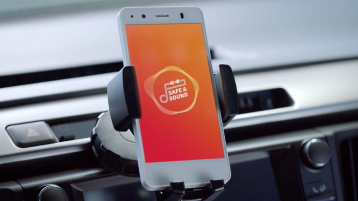 Toyota keeps young drivers 'Safe & Sound' with safety smartphone app
