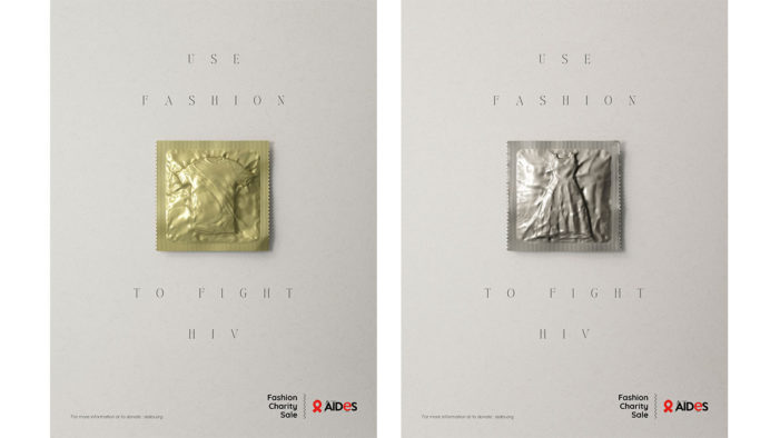 AIDES and BETC use Fashion to fight HIV