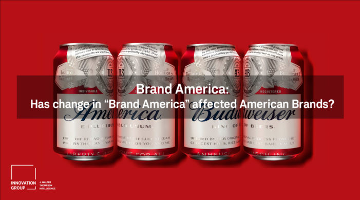 Consumers' love for US brands untainted by growing concerns about 'Brand America'