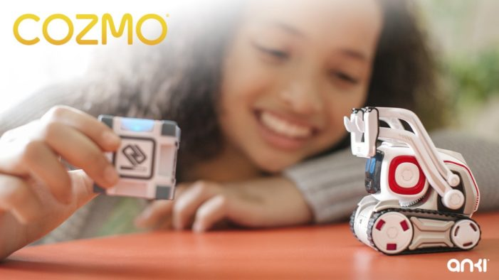 New robotic companion Cozmo launches to the UK audiences