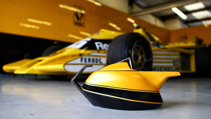 Renault celebrates its 40th anniversary of Formula One passion and launch the 2017 'Yellow Teapot'